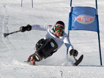 Claudia Lösch (NOE) im Riesentorlauf